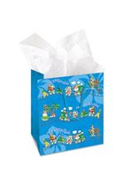 Island Heritage Aloha Express Christmas Gift Bag 1Piece Small