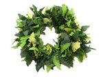 2-tones Green Kupukupu Fern Double Headband