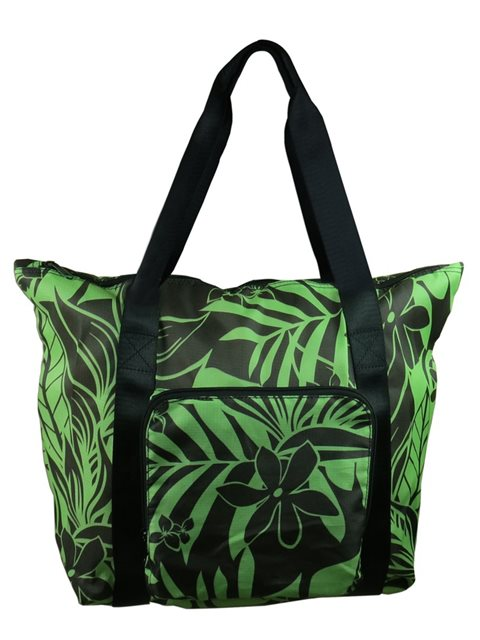 089a0dce40 Green Hawaiian Foldable Tote Bag