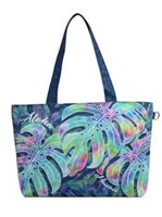 Aloha Monstera Hawaiian Tote Medium