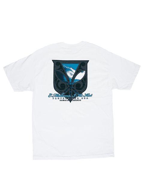 cd2df45af Surf Crest White Men's Hawaiian T-Shirt | AlohaOutlet