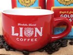 Lion Coffee New Lion Two Tone Cappuccino Cup