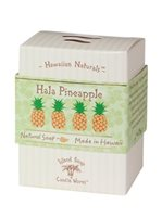 Island Soap & Candle Works Hawaiian Natural Soap 4.4 oz. [Hala Pineapple]