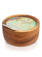 Island Soap & Candle Works Monkeypod wood candle [Creamy Coconut]