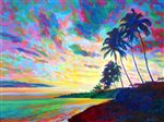 David Friedman Kahala Twilight Wall Art