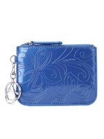 Happy Wahine Hibiscus Blue Card Case May