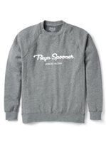 Reyn Spooner Spread Aloha Crewneck Heather Grey Men's Hawaiian Fleece