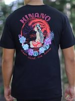 Hinano Tahiti Losua Black Men's T-Shirt