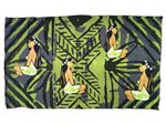 Hinano Tahiti Kanake Lime Punch Screen Printed Pareo