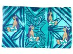 Hinano Tahiti Kanake Navy Screen Printed Pareo