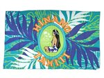 Hinano Tahiti Eunike Green Screen Printed Pareo