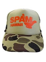 SPAM HAWAII Shaka Spam Camo Unisex Hawaiian Hat