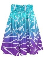 Fantastic Tiare Turquoise&Plum Poly Cotton LW-18-638