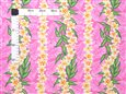 Plumeria Dream Pink Poly Cotton LW-18-656