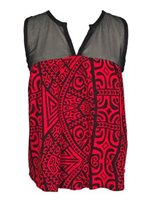 Hinano Tahiti Talalelei Red Ladies Tank Top