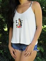 Hinano Tahiti Mara Whisper White Ladies Tank Top