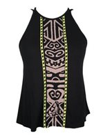 Hinano Tahiti Tepora Black Ladies Tank Top