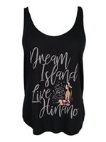 Hinano Tahiti Lili Black Ladies Tank Top