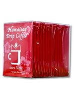 Hawaiian Drip Coffee Drip Coffee 0.25oz 16pack [100% Kona]