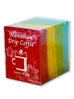 Hawaiian Drip Coffee Drip Coffee 0.25oz 16pack [4-flavor assortment pack]