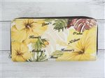 Yellow Islander Hibiscus Wallet