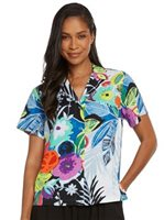 [Spring 2018] Jams World Tropical Love Print Top