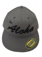 HIC Aloha Fitted Charcoal Men's Hat