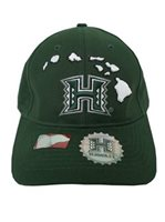 UH Map Green Men's Hat