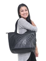 Hinano Tahiti Mira Black Shoulder bag
