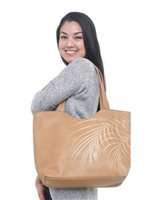 Hinano Tahiti Mira Brown Shoulder bag