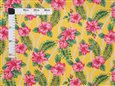 Sweet Hibiscus Lei Yellow Poly Cotton FK-010