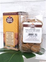 Kauai Kookie Kona Coffee Macadamia  4 oz x 2 Boxes Bite-Sized Cookie