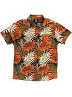 Hinano Tahiti Siona Tobacco Men's Hawaiian Shirt
