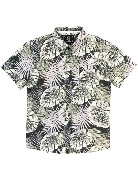Siona Grey Men's Hawaiian Shirt