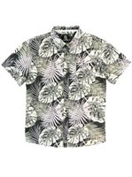 Hinano Tahiti Siona Grey Men's Hawaiian Shirt