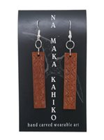 Na Maka Kahiko Koa Maka Maka Earrings