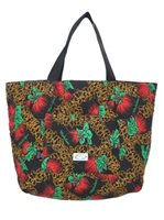 Quilted Drawstring Tote Bag