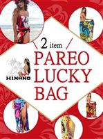 [28%OFF] Hinano Tahiti Assorted Screen Printed Pareo Lucky Bag $40 Set