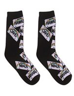License Plates Men's Hawaiian Socks