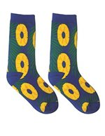 Pineapple Slices Men's Hawaiian Socks