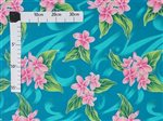 Plumeria  Jade Poly Cotton QSQ-17-948