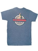 Hinano Tahiti Tasi Navy Heather Men's T-Shirt