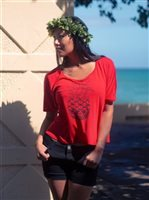 Hinano Tahiti Juiet Red Women's T-Shirt