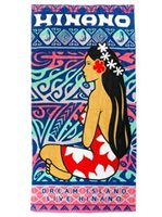 Hinano Tahiti Warren Astral Beach Towel