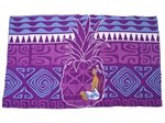Hinano Tahiti Lysa Purple Screen Printed Pareo