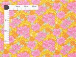 Hibiscus Lei Yellow Poly Cotton LW-18-661