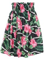 Sweet Hibiscus Lei Black Poly Cotton FK-010