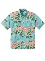 Reyn Spooner Kuromatsu Forest Baltic Polycotton Men's Hawaiian Shirt Classic Fit