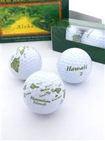 Hawaii Golf Collection Golf Balls