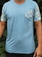 Hinano Tahiti Aspen Light Blue Men's T-Shirt